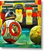 Star Wars Brothers - Pa Metal Print