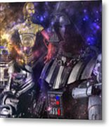 Star Wars Compilation Metal Print