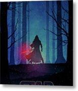 Star Wars - The Force Awakens Metal Print