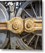 Starboard Drive Wheels And Connecting Rods No. 9000 Metal Print