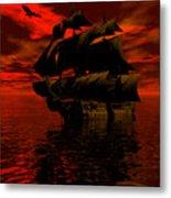 Starboard Tack Metal Print
