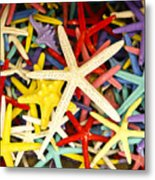 Starfish Dressed Up Metal Print