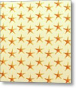 Starfish Pattern. Metal Print