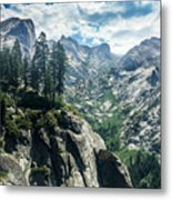 Staring At The Continental Divide Metal Print