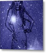 Starlight Of Space And Time 2 Metal Print