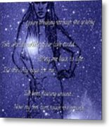 Starlight Of Space And Time 3 Metal Print