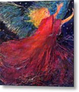 Starry Angel Metal Print