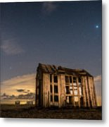 Starry Night At Dungeness Metal Print