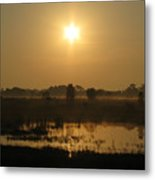 Starry Sunrise Metal Print