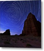 Stars Above The Moon Metal Print