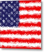 Stars And Stars And Stripes Metal Print