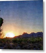 Start Of A New Day Metal Print