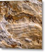 Starvedrocksandstonepatterns Metal Print