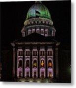 State Capitol Madison Wi Metal Print