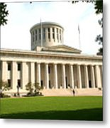 State Capitol Of Ohio Metal Print