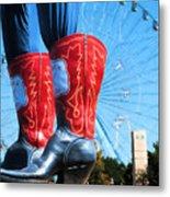 State Fair Of Texas Icons Metal Print