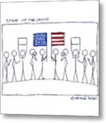 State Of The Union Metal Print