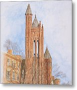 State Street Church Metal Print
