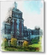 Stately Beauty Metal Print