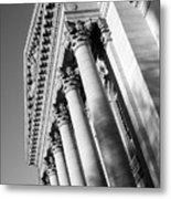 Stately Colonnade Metal Print