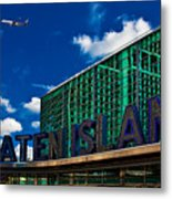Staten Island Ferry Terminal Metal Print
