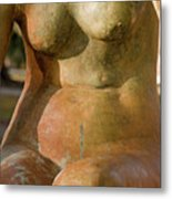 Statue In The Nude Metal Print