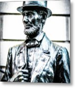 Statue Of Abraham Lincoln #8 Metal Print