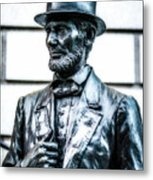 Statue Of Abraham Lincoln #9 Metal Print