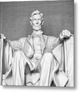 Statue Of Abraham Lincoln - Lincoln Memorial #4 Metal Print