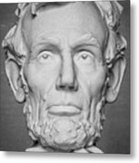 Statue Of Abraham Lincoln - Lincoln Memorial #6 Metal Print