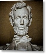 Statue Of Abraham Lincoln - Lincoln Memorial #7 Metal Print