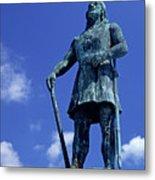 Statue Of Leif Ericksson  Metal Print