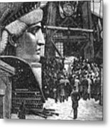 Statue Of Liberty, 1881 Metal Print