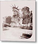 Statue Of Liberty 1883 Metal Print