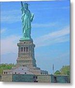 Statue Of Liberty 21 Metal Print