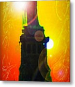 Statue Of Liberty 7 Metal Print
