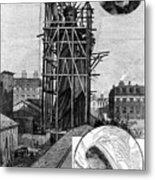 Statue Of Liberty, C1884 Metal Print by Granger