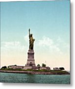 Statue Of Liberty, C1905 Metal Print