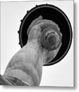 Statue Of Liberty, Hand And Torch Metal Print