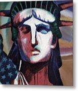 Statue Of Liberty Hb5t Metal Print