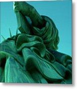 Statue Of Liberty New York City Metal Print