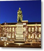 Statue Of William Of Orange On The Plein - The Hague Metal Print