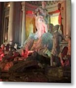 Statues At Ceasars Palace Metal Print