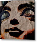Statues Don't Cry Metal Print