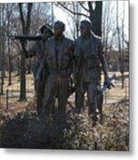 Statues Of War Metal Print