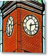 Staunton Clock Tower Landmark Metal Print