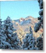 Staunton Mountain Metal Print by Steven Michael