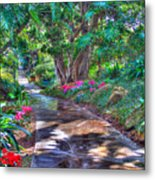 Stay On Your Path Metal Print