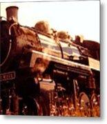 Steam Engine 3716 Metal Print