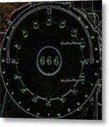 Steam Engine 444 Metal Print